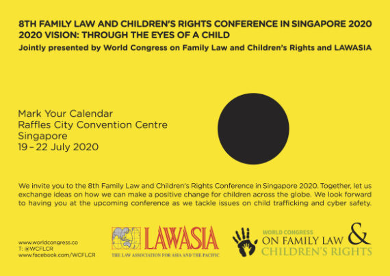 8th Family Law and Children's Rights Conference Singapore 2020